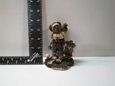 Boyds Bears and friends Bearstone Collection Golf Figurine Arnold P Bomber 1999