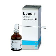 Lidocaine Spray 10% Local Anesthesia for SKIN NUMBING Tattoo Piercing