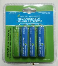 Westinghouse AA ReChargeable Batteries 400 mAh 3.2V Lithium FOR SOLAR NEW CHEAP