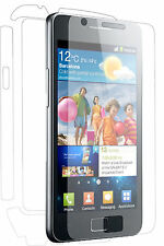 Samsung Galaxy S2 FULL BODY Clear Screen Protector Skin