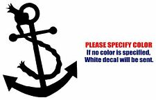 ANCHOR Graphic Die Cut decal sticker Car Truck Jeep Boat Window Laptop Wall 11""