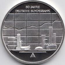 10 Euro Gedenkmünze 50 Jahre Bundesbank 2007 Polierte Platte Silber 925/-