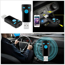 3.5mm Wireless BC07 USB Bluetooth Audio Receiver Car Handfree MP3 Player Adapter