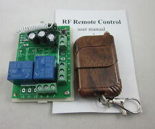 12V 2 Channel Wireless RF Remote Control Switch Relay