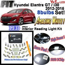 8pcs LED Interior Light Kit For Hyundai (Elantra GT)/ i30 2012-2015 (No Sunroof)
