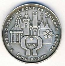 1976 Table Tennis European Championships MEDAL Prague Czechoslovakia