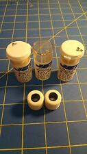 Jet J8 3 Pairs .770 tall 3/32 axle White Big Hub Colored Rubber  Mid America