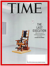 TIME Magazine June 8, 2015 The Last Execution, FIFA, Mexican Border, Robots,