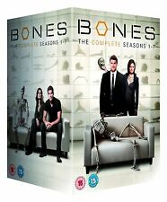 The Complete Bones DVD Collection Series 1, 2, 3, 4, 5, 6 , 7  Box Gag Reels New