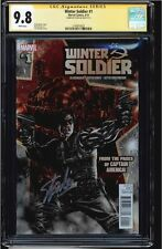 WINTER SOLDIER #1 CGC 9.8 SS STAN LEE SIGNED HIGHEST GRADED CGC #1144910025