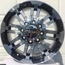 "4 New 18"" Wheels Rims for Nissan Titan 2006 2007 2008 2009 2010 2011 Rim- 1235"