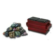 Armorcast 28mm Resin ACCS002 Garbage Pile & Dumpster (2 pieces) Modern Terrain