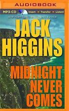 Paul Chevasse: Midnight Never Comes 4 by Jack Higgins (2015, MP3 CD, Unabridged)
