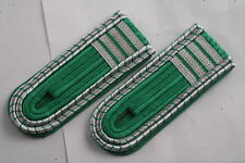 East German Officer Academy Year 4 Volkspolizei Police VOPO Pair Shoulder Board