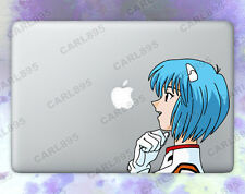 Neon Genesis Evangelion Rei Ayanami Color Vinyl Sticker for Macbook Air/Pro
