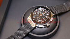 Hublot Big Bang 41mm Stainless Steel & Black Ceramic on Rubber REF#341.SB.131.RX