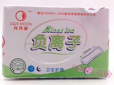 10 pack /300 pads Lovemoon Anion pads  Love Moon Anion Sanitary Napkin