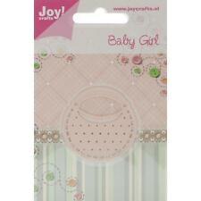 "Joy! Crafts Cut & Emboss Die JC20215 ~ Baby Girl Bag, 1.75""X1.75"" ~ NIP"