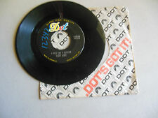 SONNY JAMES just one more lie/ a mile and a quarter DOT company sleeve     45