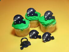 12  Seattle Seahawks NFL Football Cupcake Rings Toppers Decorations Party Favors