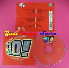 CD One Shot 80! compilation Dire Straits Simple Minds Duran no mc dvd vhs(C34)
