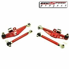 GSP FITS 95-98 240SX S14 S15 FRONT LOWER CONTROL ARM HIGH ANGLE HA TENSION ROD