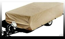 Pop up Tent Trailer Cover- Fit 8' - 10' Trailer