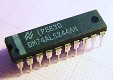 10x DM74ALS244AN Ottale Buffer E Line Driver, National Semiconductor