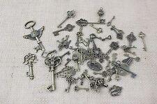 Teclas 100g Steampunk Gótico Mezcla de Tamaños Encantos Colgantes piezas de joyería
