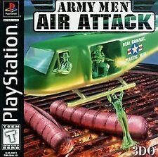Army Men: Air Attack (Playstation) PS1 PSX PSone