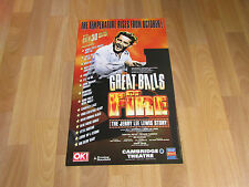 GREAT BALLS OF FIRE Jerry Lewis Story CAMBRIDGE Theatre Poster