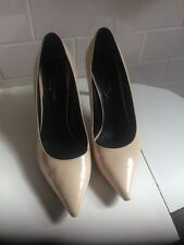 yves saint laurent YSL Shoes Patent Nude Stiletto Sz 40/9 US