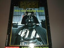 Vintage STAR WARS RETURN OF THE JEDI -PULL-OUT POSTER BOOK 15 MiniPosters 1997