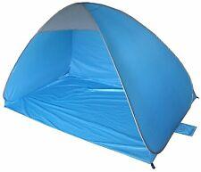 2M X 1.2M BLUE INSTANT POP UP BEACH CAMPING FISHING SHELTER DOME TENT TY3690