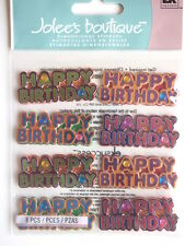 JOLEE'S BOUTIQUE STICKERS - HAPPY BIRTHDAY WORDS REPEATS