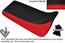 BLACK & RED CUSTOM FITS YAMAHA BLASTER YFS 200 DUAL LEATHER SEAT COVER