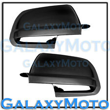 07-13 Toyota Tundra CrewMax double cab Black Chrome Full Mirror Cover a Pair