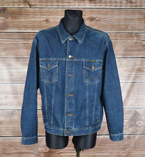 WRANGLER Jeans Authentic Western Uomini Denimn Giacca Taglia 2xl XXL, GENUINE