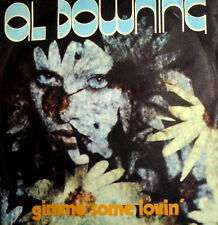 "GIMME SOME LOVIN'  AL DOWNING 7"" ITALY PS 1975 THE WHOLE WORLD'S GONE FUNKY"