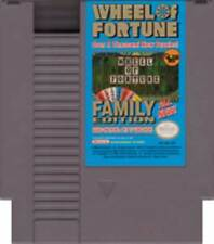 Wheel Of Fortune Family Edition - NES Nintendo Game