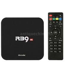R39 4K Quad Core Android 5.1 TV Box WiFi H.265 3D Movies Media Fully Loaded S6T0