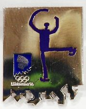 FIGURE SKATING LILLEHAMMER 1994 WINTER OLYMPIC GAMES PIN BADGE #688