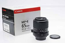 Canon MP-E 65mm f2.8 1-5X Macro Lens 65/2.8 MPE                             #338