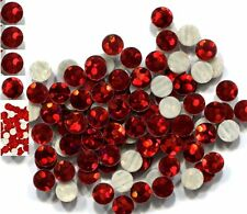HOLOGRAM SPANGLES Hot Fix  RED  Iron on  6mm 1 gross