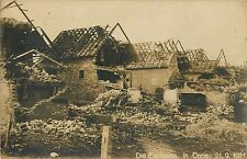 Buildings Destroyed by the Fertilizer Plant Explosion in Oppau Germany RPPC 1921