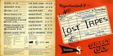 subject esq. / Sahara - Lost Tapes 1971 - 1975 - never before released tracks CD