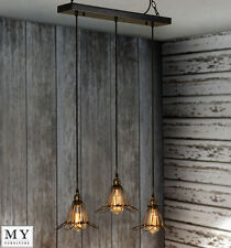 Sebastien- vintage retro industrial pendant light Edison filament bulb included