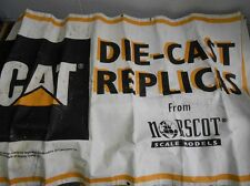Very RARE Cat By Norscot Construction Banner