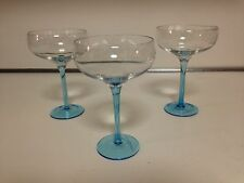 BOMBAY SAPPHIRE LONG STEMMED CHAMPAGNE GLASS -   4 TOTAL