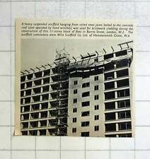 1957 Mills Scaffolding For 11 Story Block Of Flats Barry Street London W-2